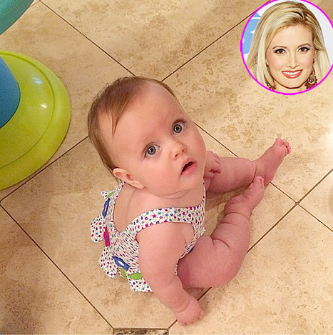 "Holly Madison Shares Adorable Photo of Baby Girl Rainbow on First Birthday: ""I'm Emotional"""