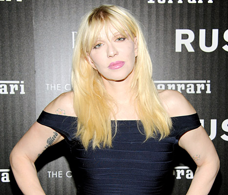 Courtney Love Claims She May Have Found Malaysia Airlines Flight 370, Shares Picture
