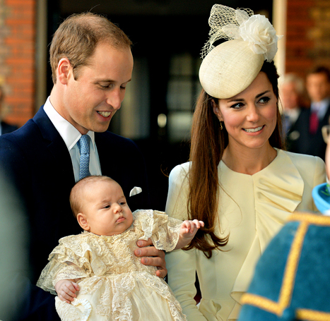 Prince William Knights Doctor Who Delivered Prince George, Treated Kate Middleton