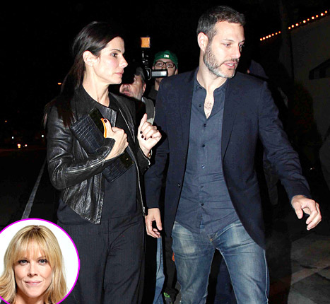 Michael Morris Goes to Dinner With Wife Mary McCormack, Sandra Bullock