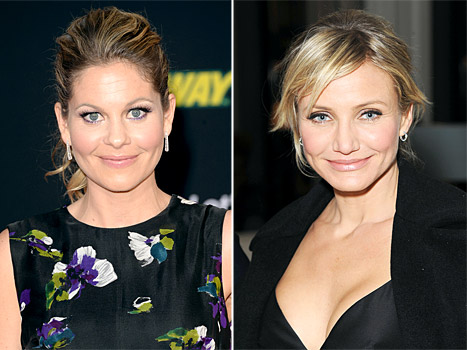 "Candace Cameron Bure Will Wear ""Modest"" DWTS Costumes; Cameron Diaz Goes Topless: Top Stories"
