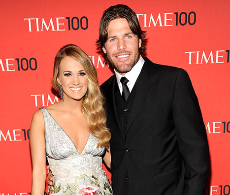 "Carrie Underwood's Husband Mike Fisher: ""I Stay Out of Her Way"" When She's Focused on Work"