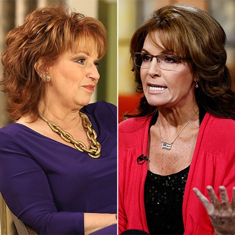 "Joy Behar Does Not Want Sarah Palin on The View: She Should ""Say Bye-Bye and Disappear"""
