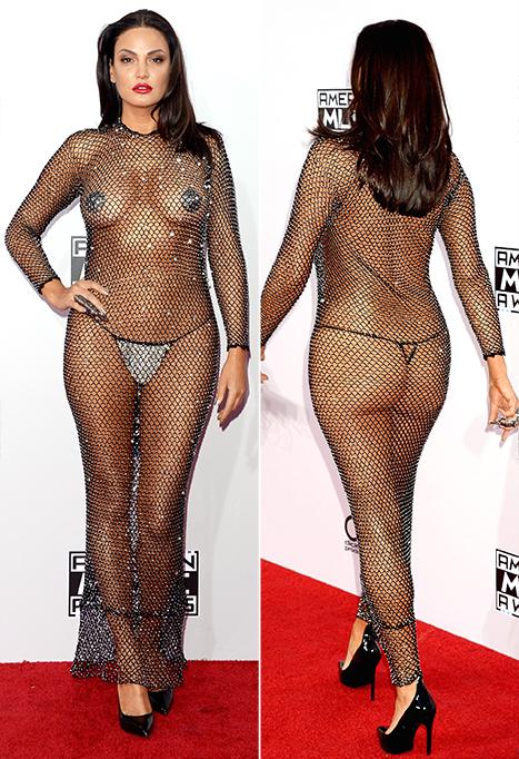 Nude In Dress 23