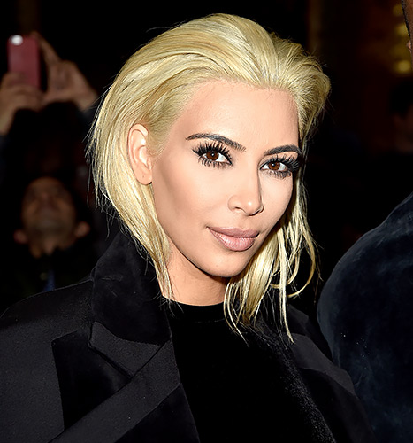 Kim kardashian s hair colorist dishes on her quot blonde on blonde journey