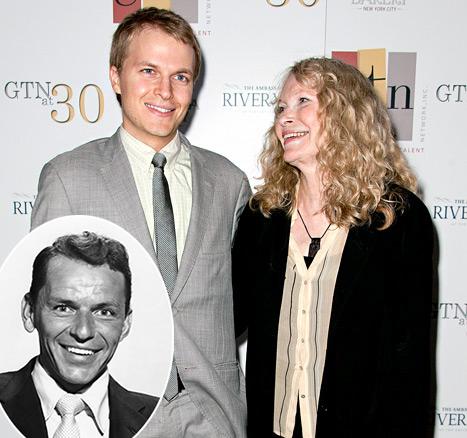 "Woody Allen: Son Ronan Farrow ""Looks a Lot Like"" Mia Farrow's Ex Frank Sinatra"