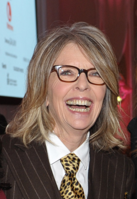 Actress Diane Keaton attends The Hollywood Reporter's 21st Annual Women in Entertainment Power 100 breakfast presented by Lifetime on Wednesday, Dec. 5, 2012 in Beverly Hills, Calif. (AP Photo/The Hollywood Reporter, John Shearer)