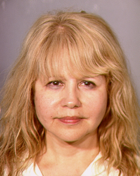 This photo provided by the Las Vegas Metropolitan Police Department shows Pia Zadora. Singer-actress Pia Zadora has been arrested on suspicion of domestic battery and coercion after a disturbance at her Las Vegas home. The 61-year-old Zadora was booked Saturday, June 1, 2013 into a detention center and released after posting $4,000 bail. (AP Photo/Las Vegas Metropolitan Police Department)