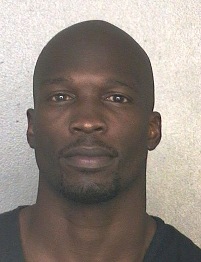 This May 20, 2013 arrest photo made available by the Broward County Sheriff's Office shows former NFL wide receiver Chad Johnson. Johnson will serve 30 days in jail after violating probation in a domestic violence case involving his then-wife, TV reality star Evelyn Lozada. A plea deal that called for no jail time fell apart Monday, June 10, 2013. (AP Photo/Broward County Sheriff's Office)