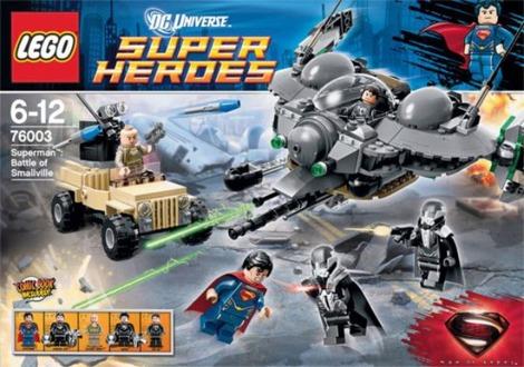 Man of Steel LEGO set reveals spoilers