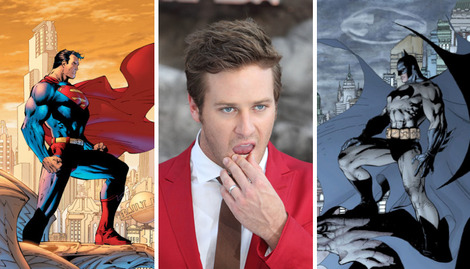 Batman vs. Superman: Armie Hammer on who would win