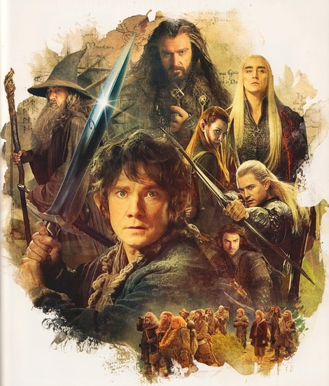 Spoilers and pictures from The Hobbit: Desolation of Smaug Annual