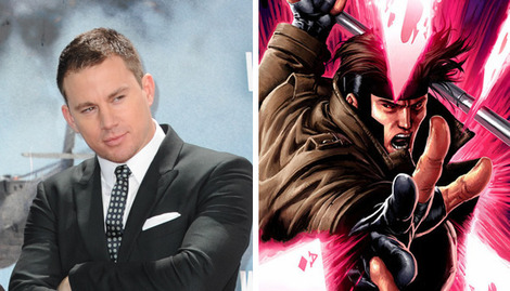 Channing Tatum really wants to play X-Men's Gambit