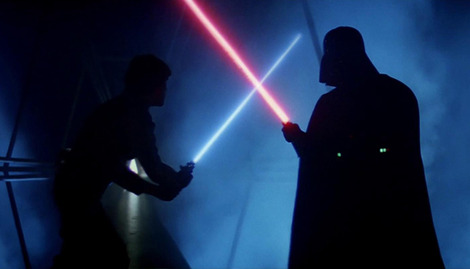 Scientists create real-life Star Wars lightsaber
