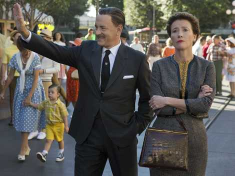Tom Hanks becomes first actor to play Walt Disney on the big screen
