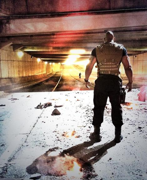 Dwayne 'The Rock' Johnson shares new Fast and Furious 7 picture