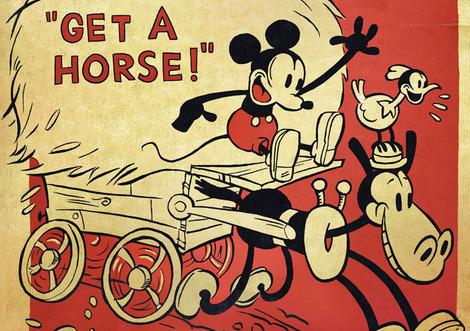 Disney's Get A Horse! short film leaked online