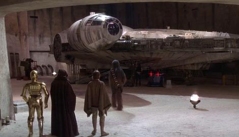 Star Wars Rumour: Millennium Falcon already built?