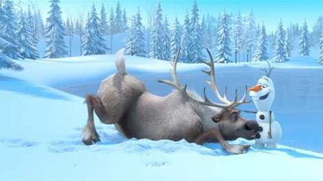 Frozen features two hidden Disney cameos