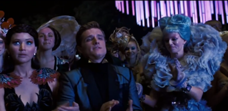 The five best scenes from Hunger Games: Catching Fire