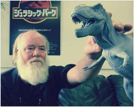 Phil Tippett back as dinosaur supervisor on Jurassic World