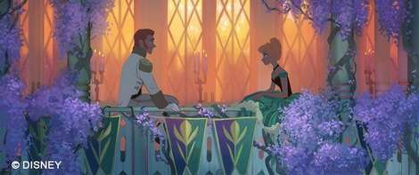 Frozen Hand Drawn Concept Art Shows What Could've Been