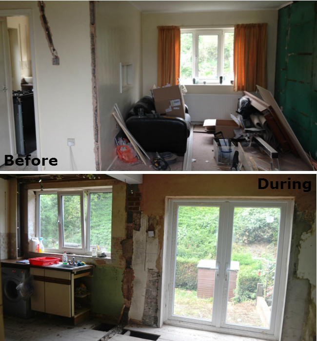Before After A Small 70s Kitchen Remodel Puts Every Inch To Work