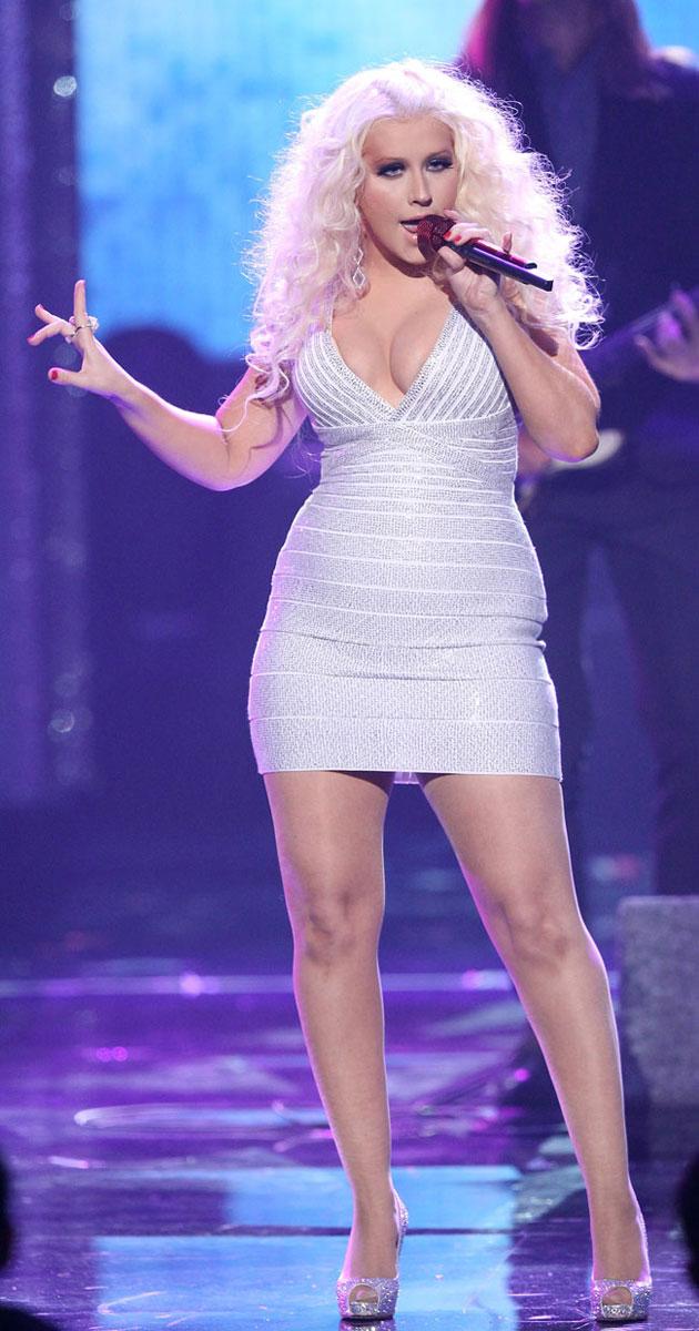 Christina Aguilera: National Anthem at NBA Finals!: Photo