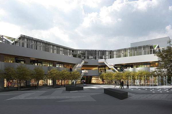 佔地約1萬5千坪的廣大台中軟體園區 (圖片來源/台中軟體園區 Dali Art藝術廣場)