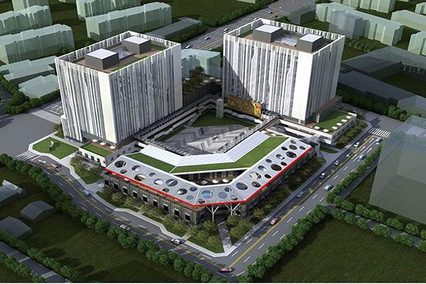 台中軟體園區雄偉時尚的建築外觀完全不輸台北的精華地段建築 (圖片來源/台中軟體園區 Dali Art藝術廣場)