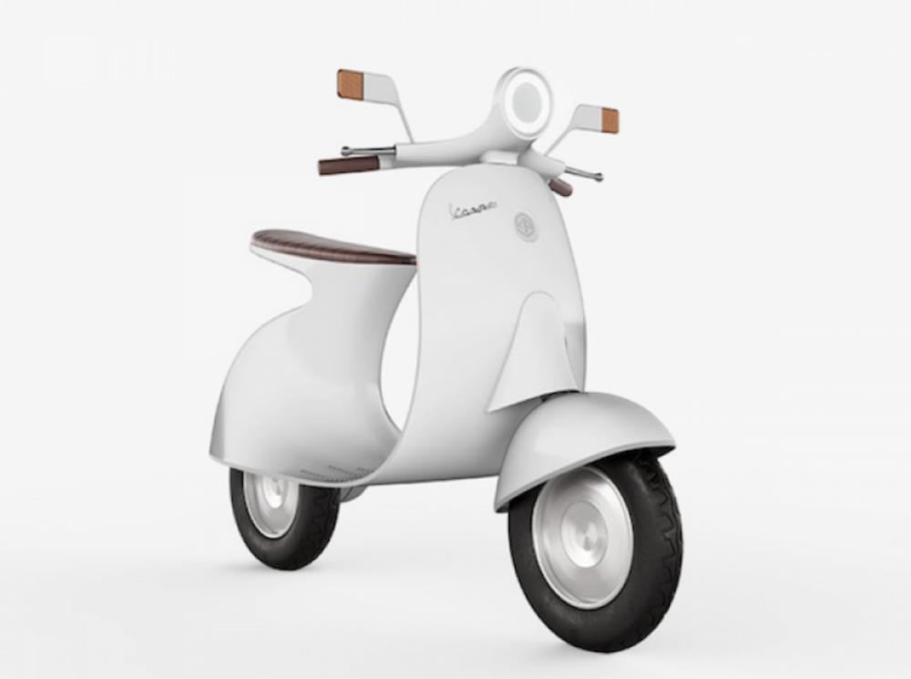 這是由義大利設計師 Giulio Iacchetti 所繪製出的電動機車。
