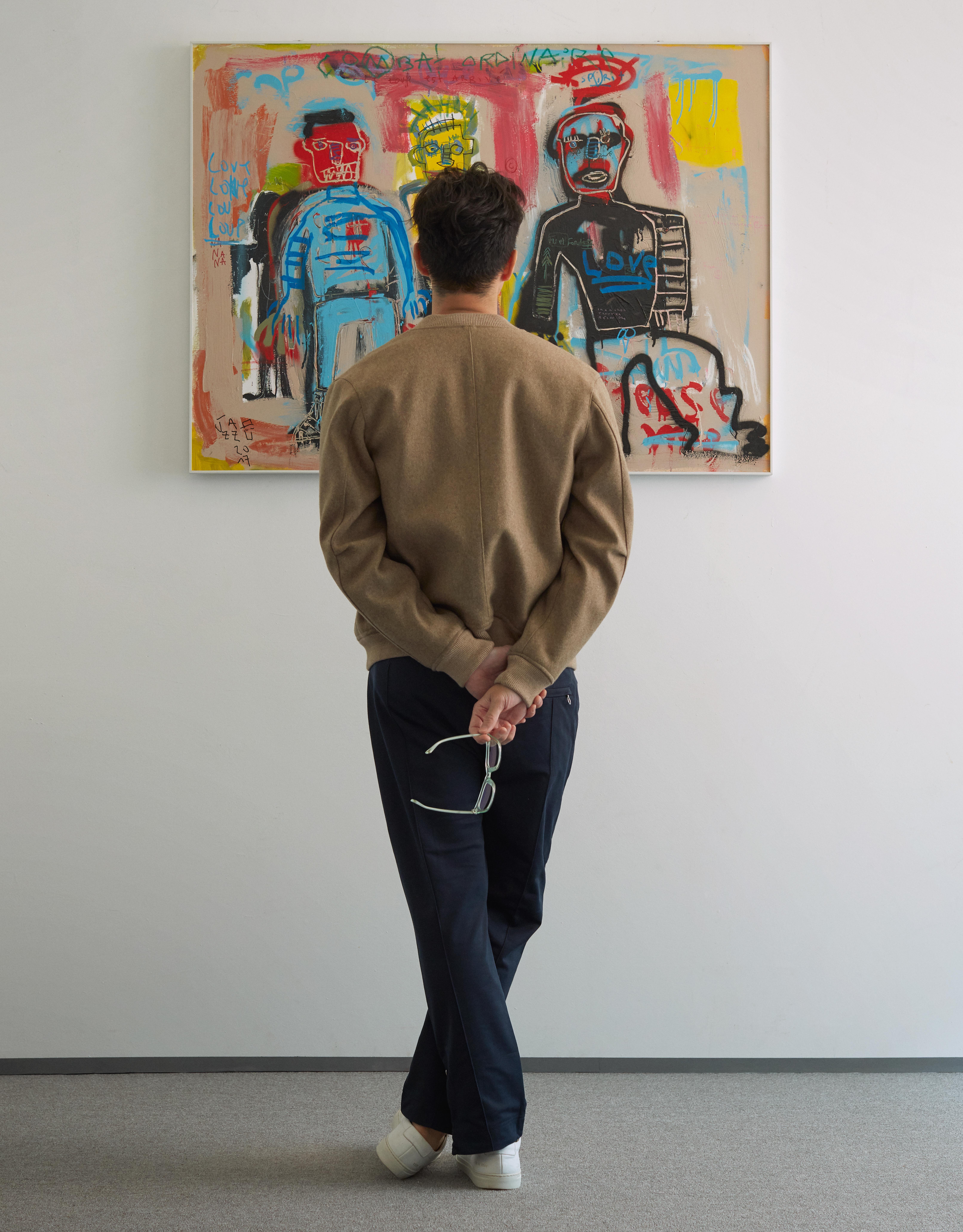 【專訪】「我確確實實跟藝術家交流過,這樣的意義超出作品本身可以表達的。」非典型藏家丁春誠的收藏心法