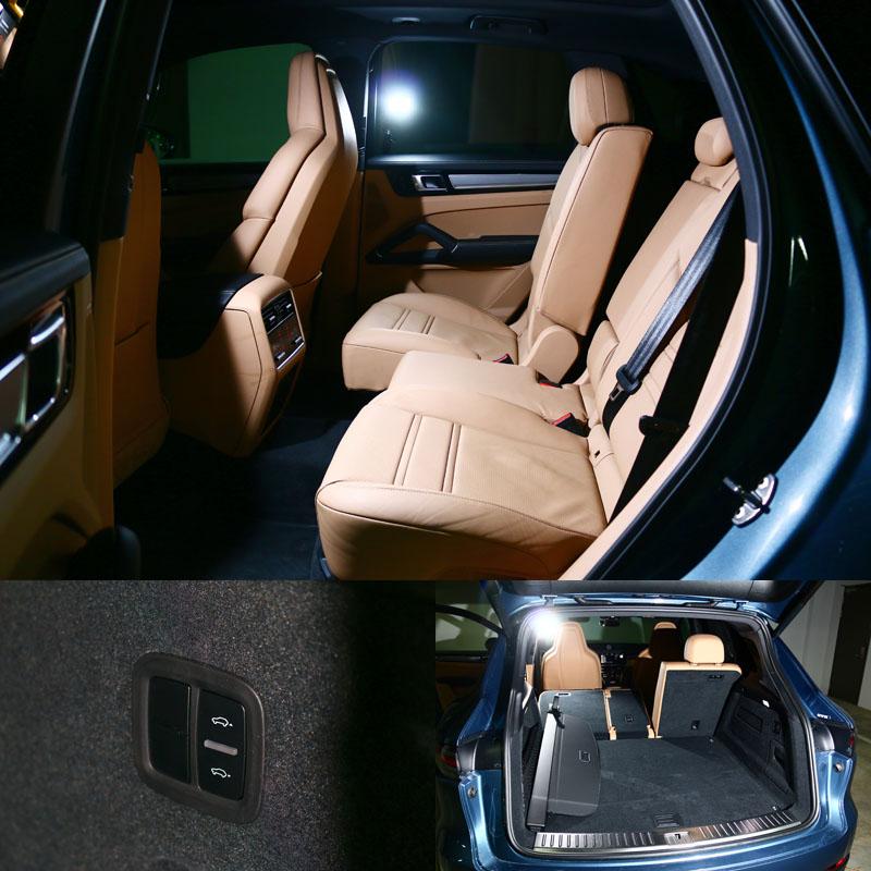 既然是款SUV,Cayenne亦有寬裕空間與完整地後座座椅調整功能,試駕車另選有可高低可調的氣壓式懸吊。