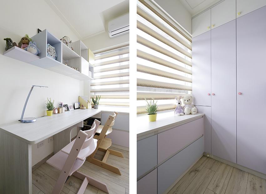 多變系統家具 形塑一家六口幸福宅