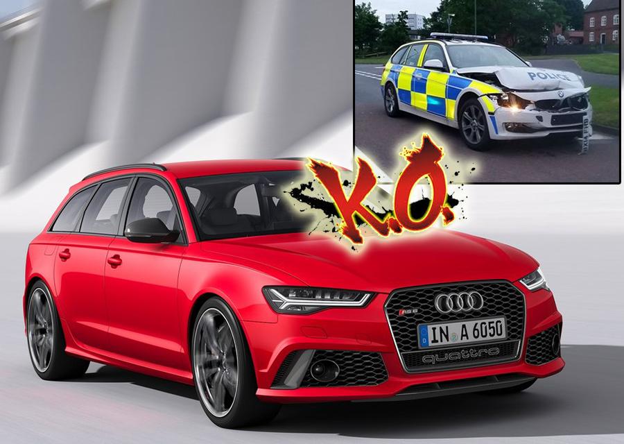 落跑開這台Audi就對了!BMW警車都被KO