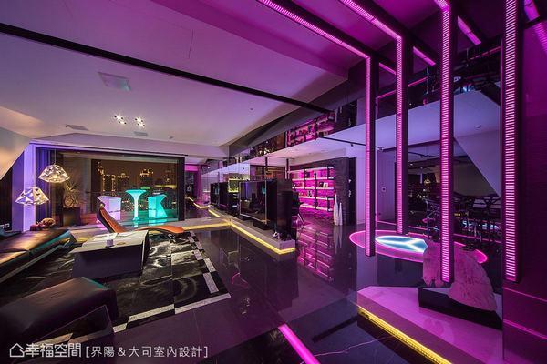 ▲亞洲設計獎-燈光設計組得獎作品【形隨 光賦】/界陽&大司室內設計。