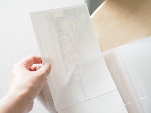 無印良品PP雙格相本,可直放5x7吋紙張