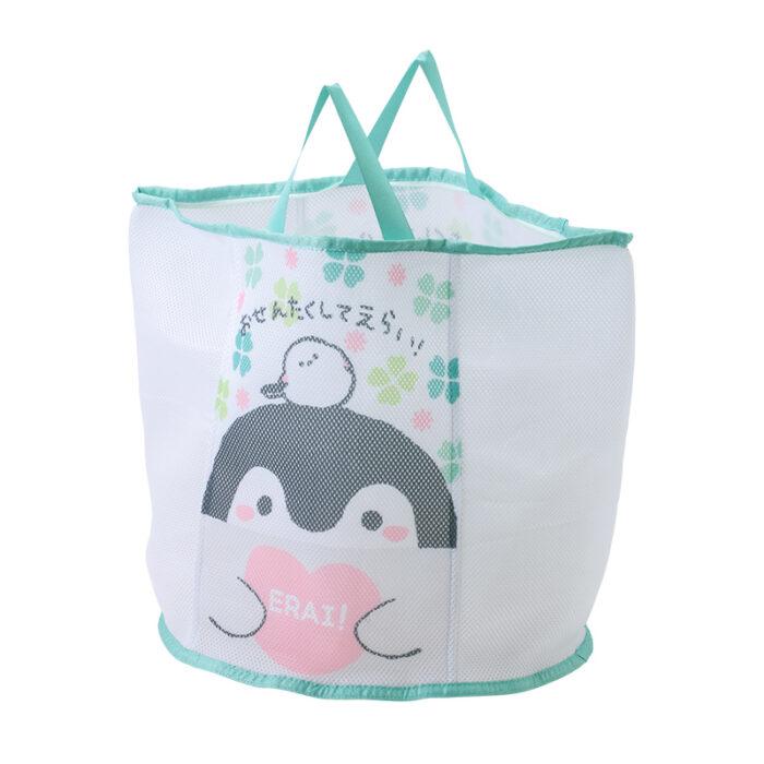 正能量企鵝洗衣袋