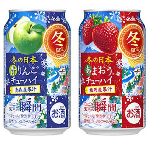 果実の瞬間-青蘋果&草莓
