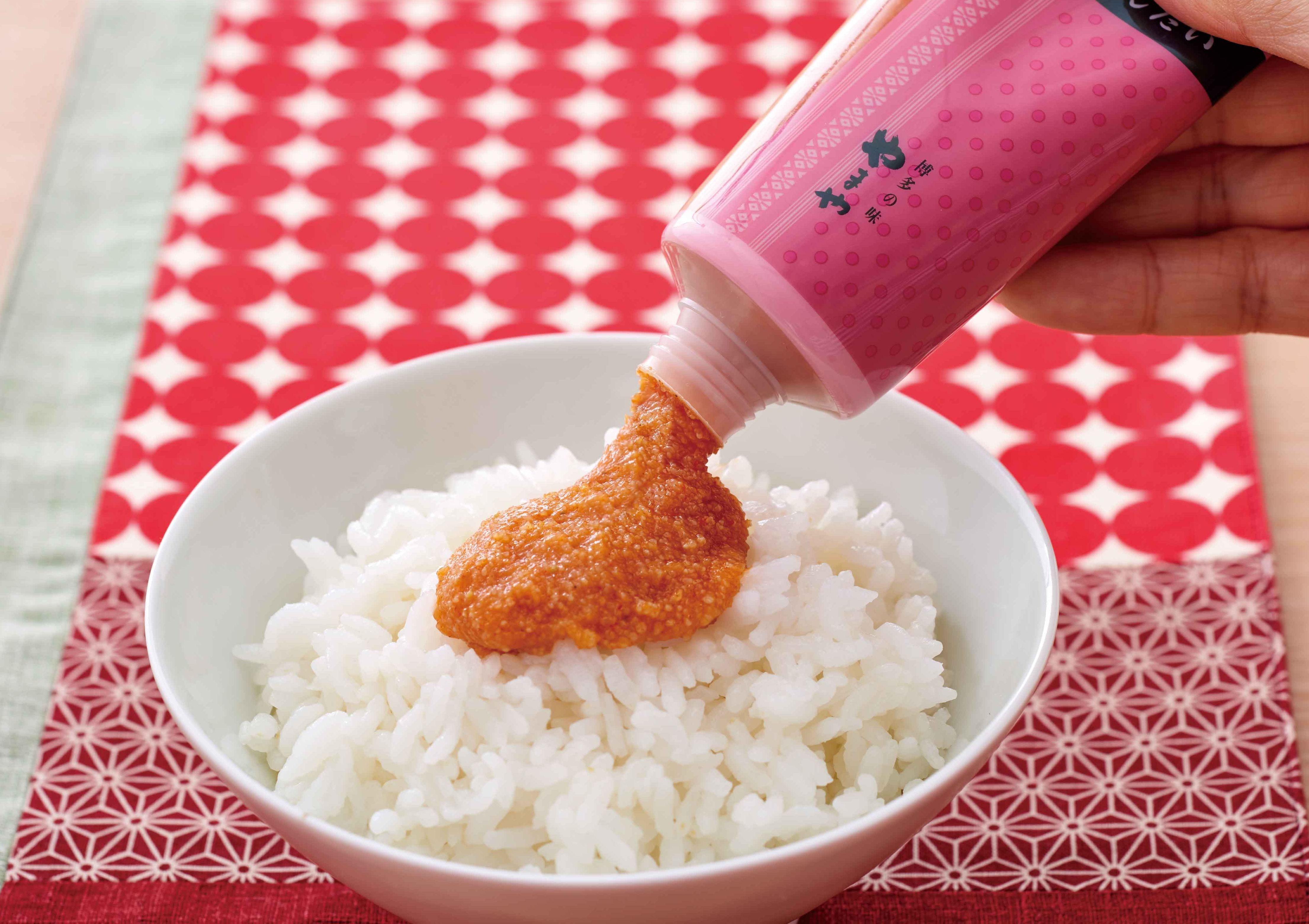 軟管明太子醬使用示範