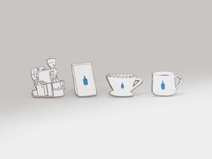 藍瓶咖啡六角快閃店 琺瑯徽章