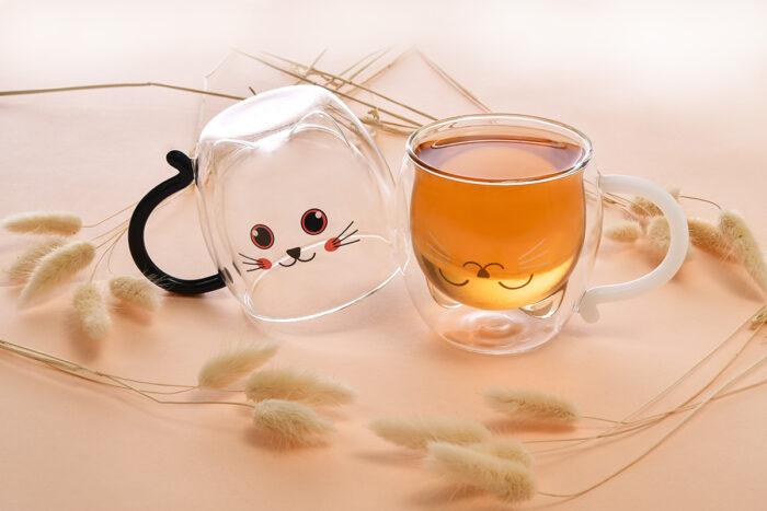 貓咪雙層杯