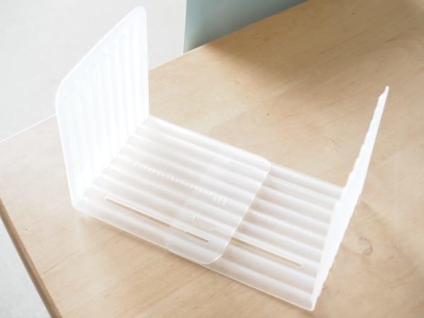 CanDo L型隔板收納架 可2個組合在一起成為滑動式