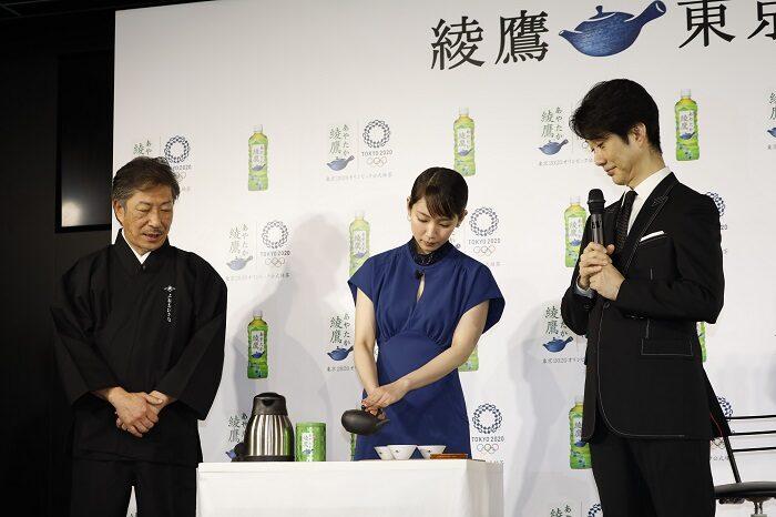 綾鷹發表會吉岡泡茶