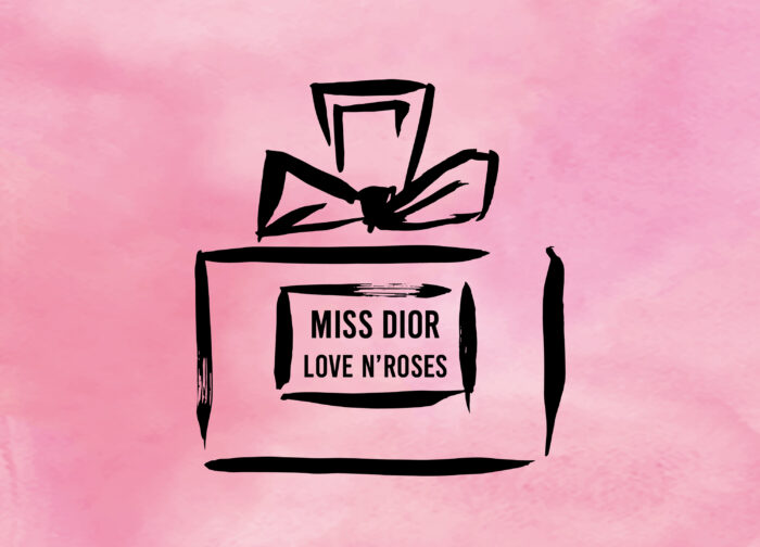 MISS DIOR LOVE N'ROSES展覽會
