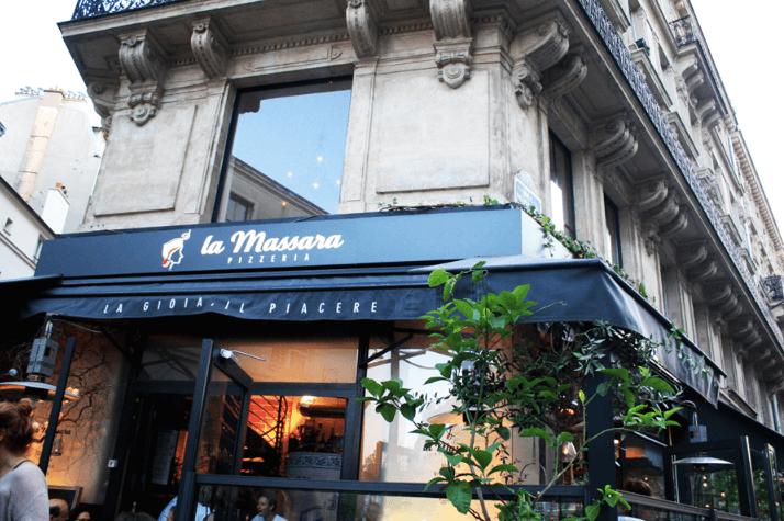 法國巴黎餐廳—la Massara 外觀 photo by vitalaurea