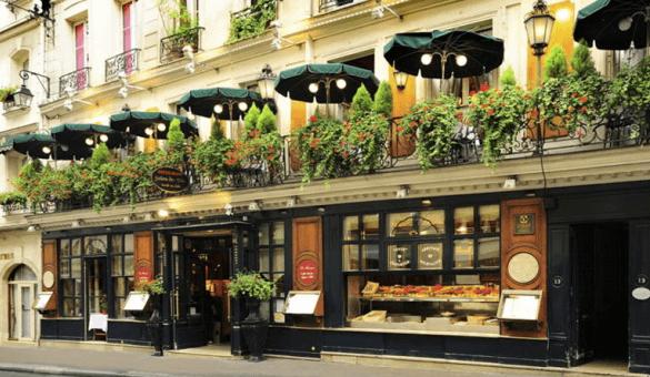 法國巴黎餐廳—Le Procope 外觀 photo by Le Procope