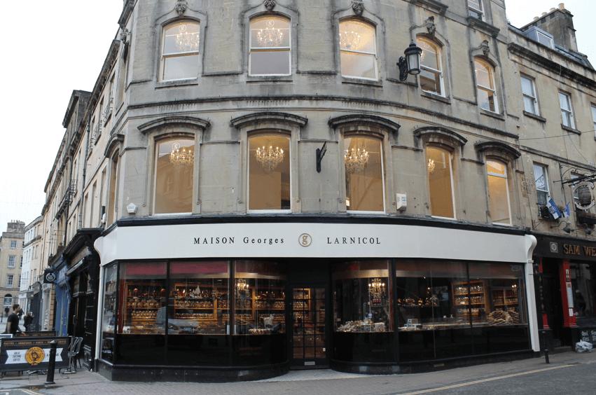 法國巴黎甜點店—Maison Georges Larnicol 外觀 photo by Dribuild