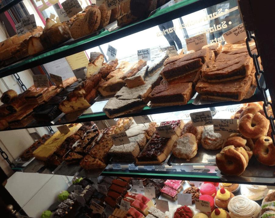 法國巴黎甜點店—Pâtisserie Viennoise 甜點 photo by Jennifer M.