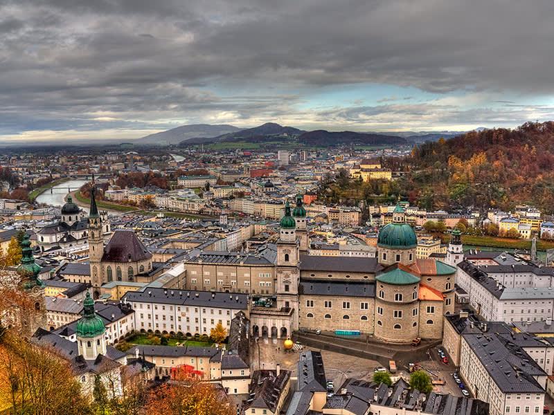 奧地利必去小鎮